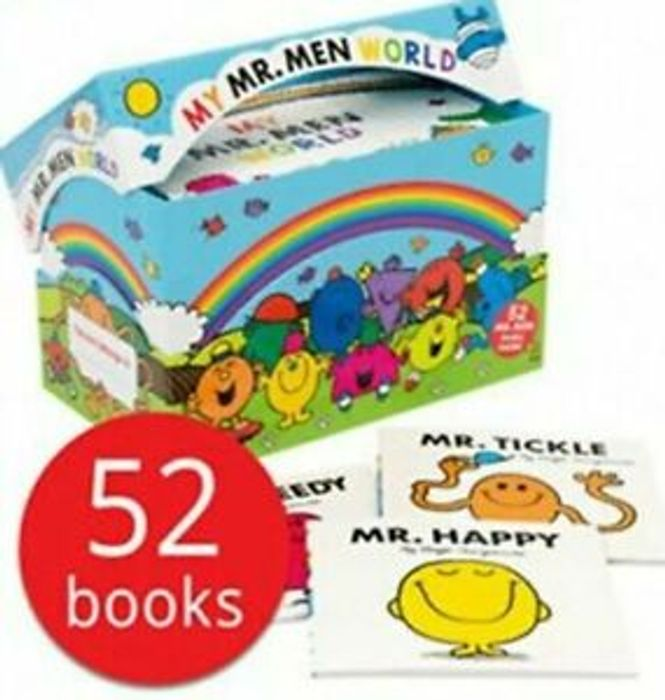 Mr Men Box Set Collection - 52 Books New - Huge Sale - Quick Delivery!