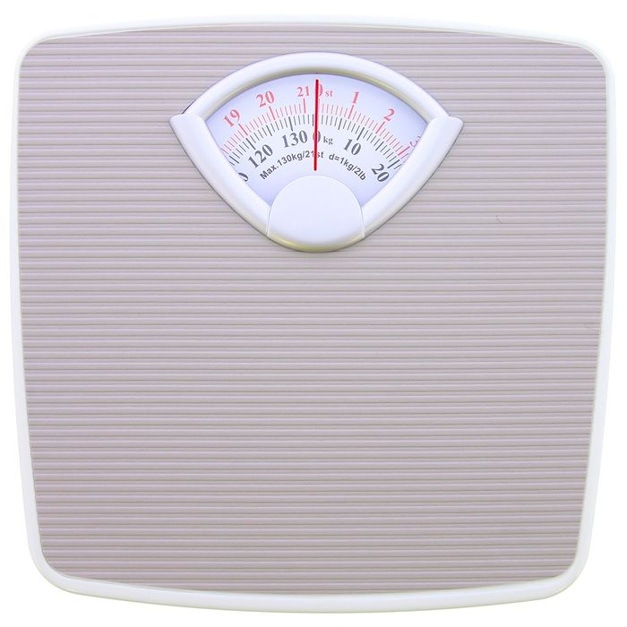 Bathroom Mechanical Weighing Scales 5 99 At Home Bargains Latestdeals Co Uk