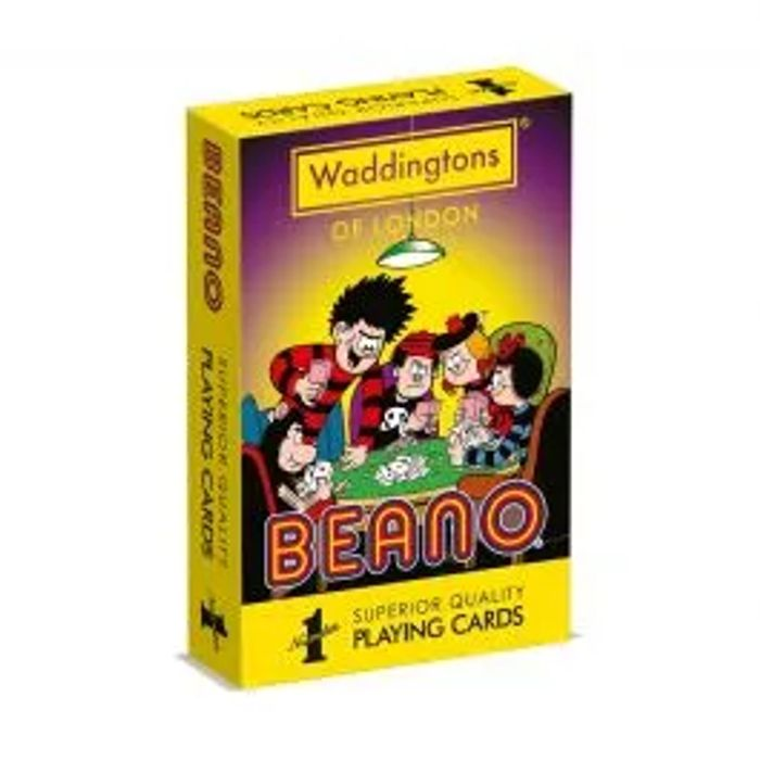 Cheap Beano Playing Cards on Sale From £5.99 to £2.99
