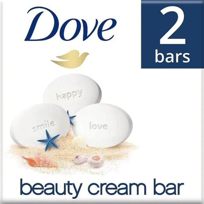 Dove Original Beauty Cream Soap Bar 2 X 100g