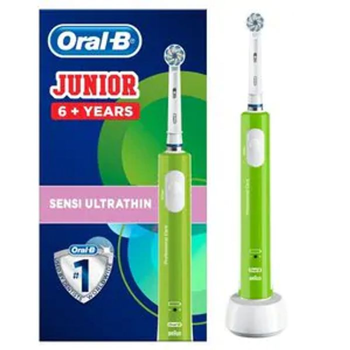 Oral B Junior Electric Toothbrush Green