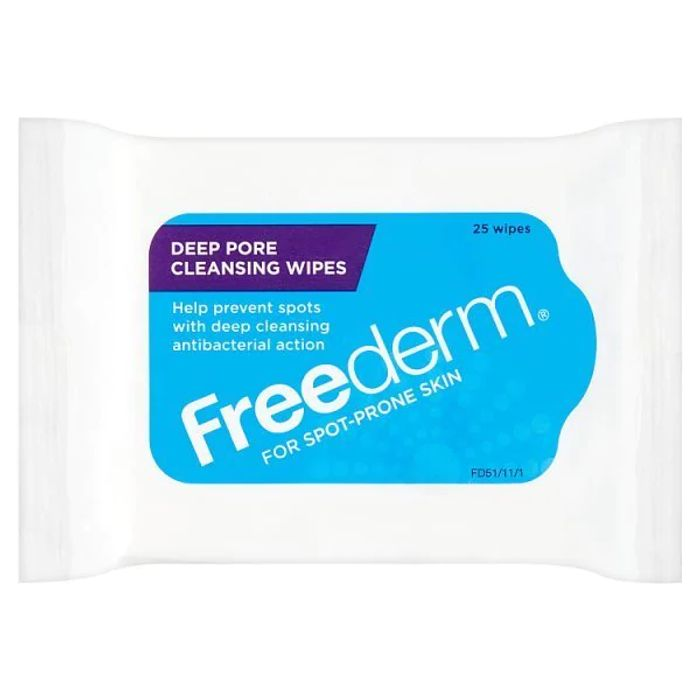 Freederm Deep Pore Cleansing Wipes 25 Wipes