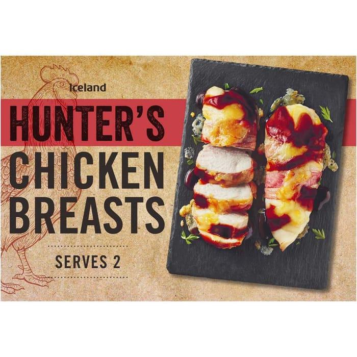 Iceland Hunter's Chicken Breasts 430g