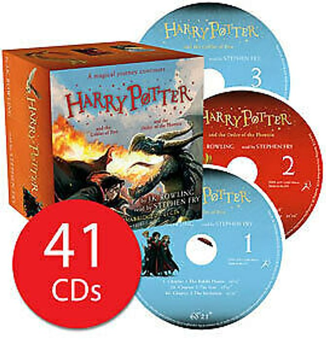 Harry Potter Audio Cd - 4-5 Goblet of Fire and Order of Phoenix - Fast Delivery!