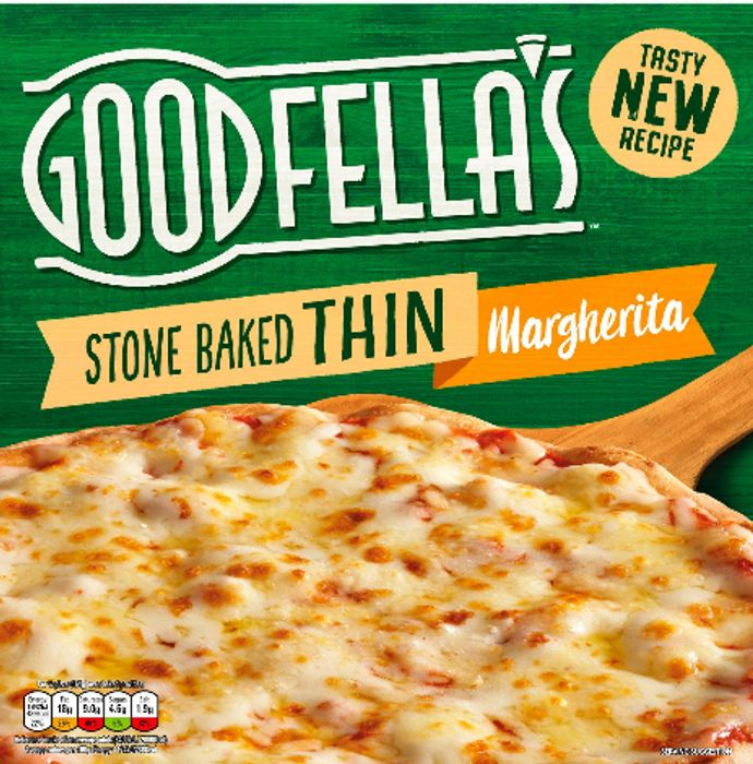 Goodfella's Stone Baked Thin Pepperoni or Margherita Pizza 3 for £5.00!