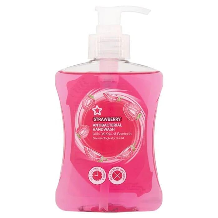 Superdrug Anti-Bacterial Strawberry Handwash 250ml