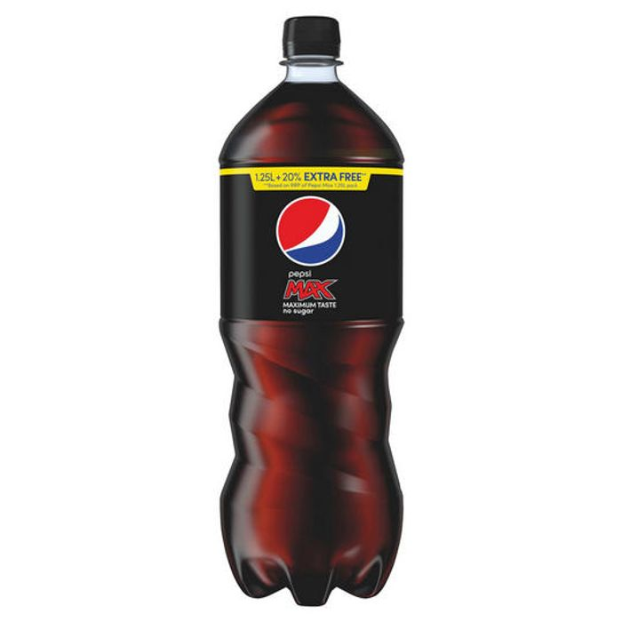 Pepsi Max 1.5L for £1 at Iceland