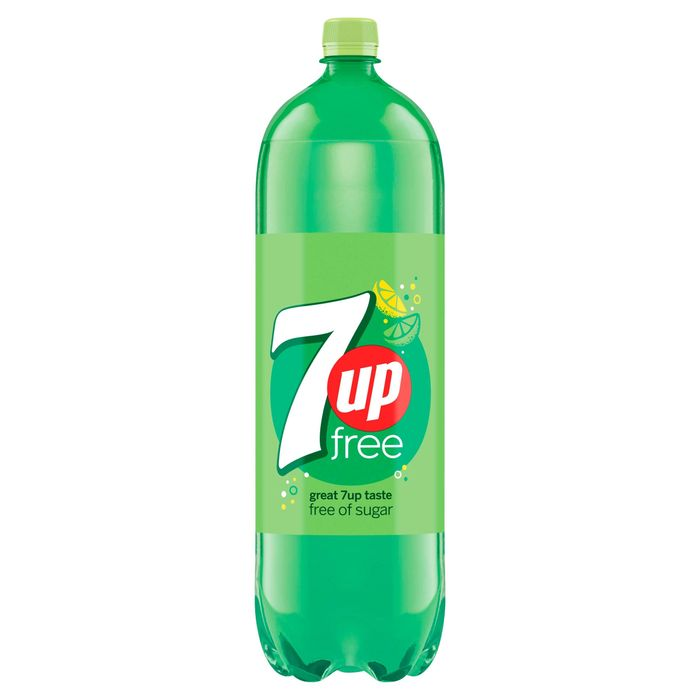 7UP Free Sparkling Lemon & Lime Drink 2L