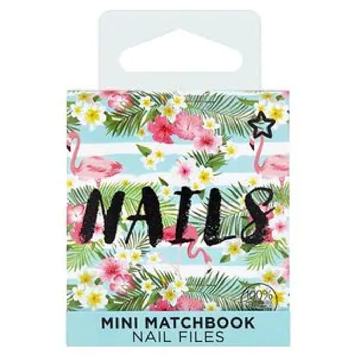 Superdrug Flamingo Matchbox Nail Files