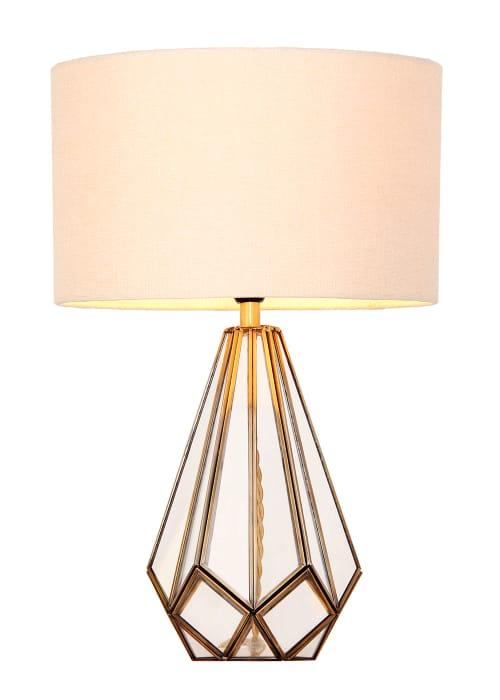Ava Glass Table Lamp