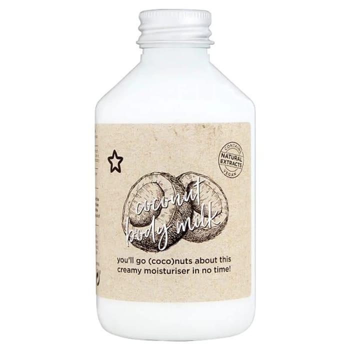 Superdrug We Heart BODY Coconut Milk 200ml