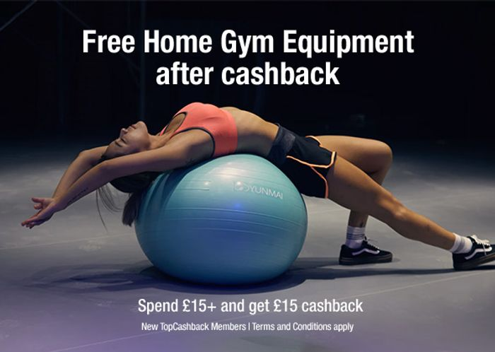 Free Home Gym Equipment after Cashback