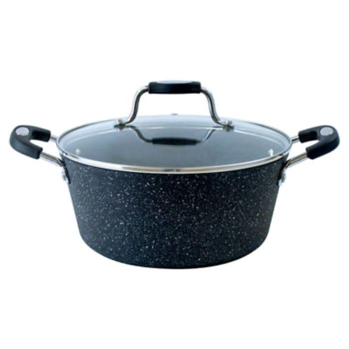Scoville Black Neverstick Stock Pot (Lifetime Guarantee)