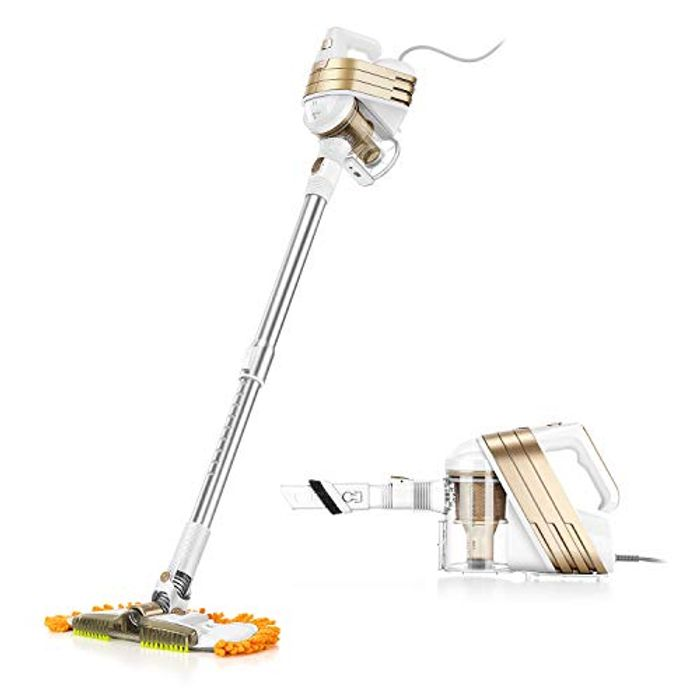 DEAL STACK - Stick Vacuum with Mop 6-in-1 - Lightning + Voucher
