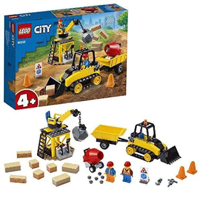 LEGO CITY - Construction Bulldozer (60252)