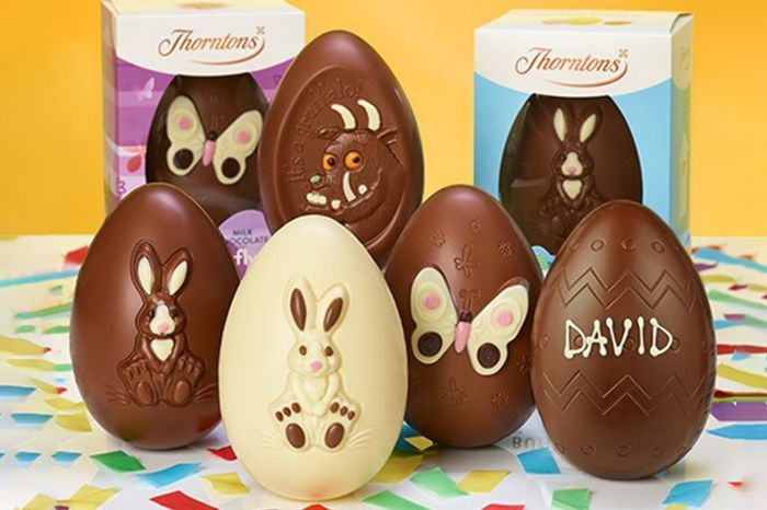 Two Free Easter Eggs at Thorntons up to £16 after Cashback