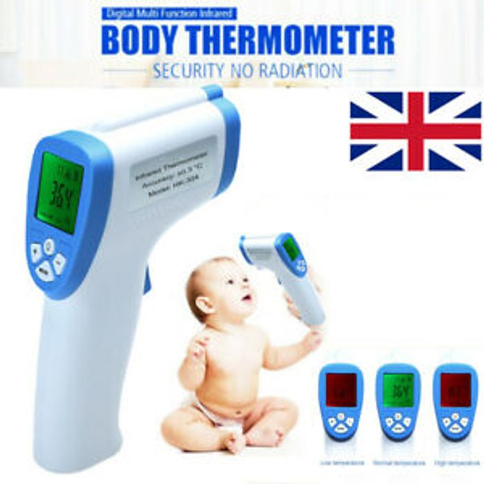 Digital LCD Thermometer Infrared Forehead