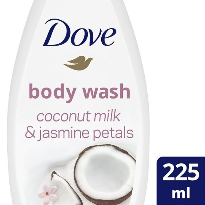 Dove Purely Pampering Coconut Milk Body Wash 225ml Only £0.95