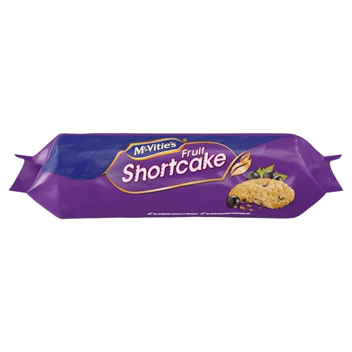McVitie's Fruit Shortcake - 2 for £1.50