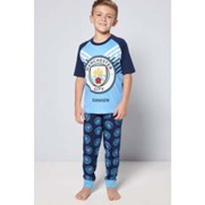 Cheap Personalised Older Boys Manchester City Pyjamas Only £5!