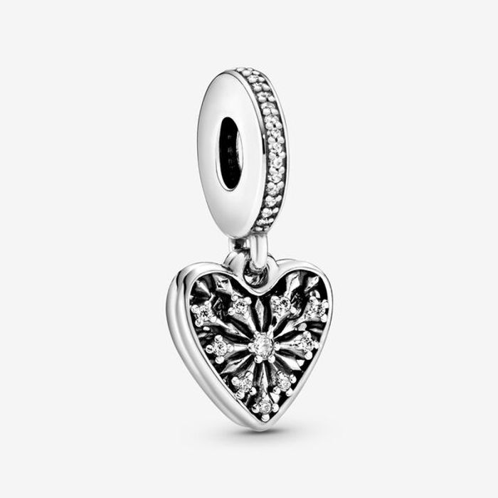 Cheap Ice Crystal Heart Dangle Charm at Pandora