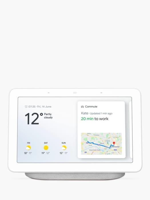 £69 off Google Nest Hub Hands-Free Smart Speaker with Google Nest