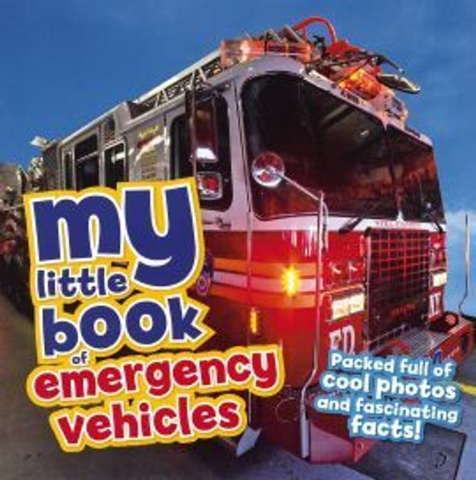 My Little Book of Emergency Vehicles (Paperback)