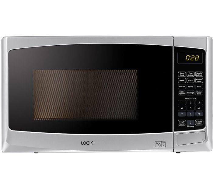 Logik 800w Silver Microwave Down To £47.99 Delivered With Code - Save £20