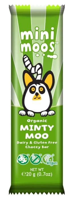 Better than Half Price 15 Mini Minty Moo Free Chocolate Bars