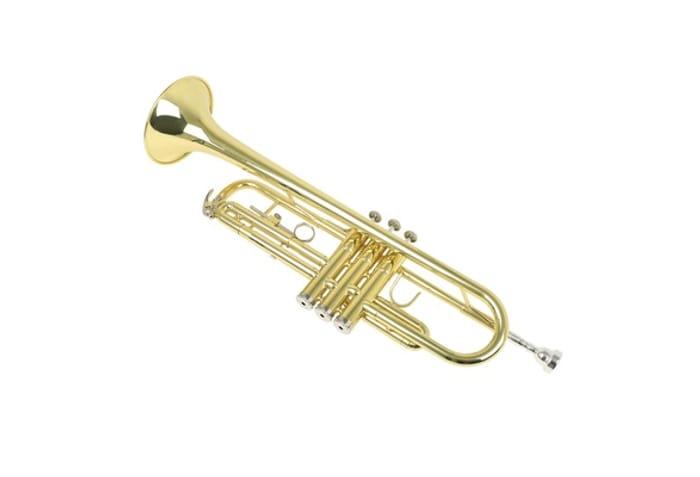 B-Flat Brass Trumpet