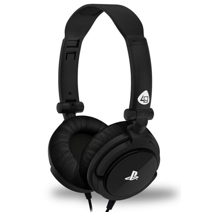 4Gamers PRO4-10 PS4, PS Vita Headset - Black