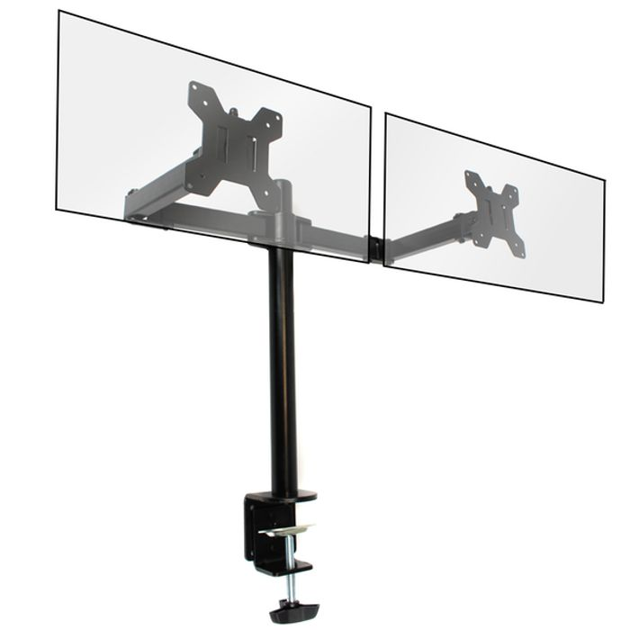 Dual Arm Monitor - VESA 75mm or 100mm