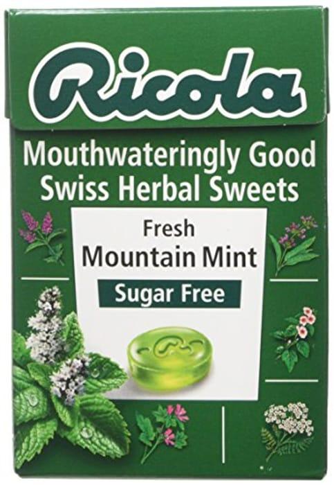 Ricola Mountain Mint Sweets 45g at Amazon