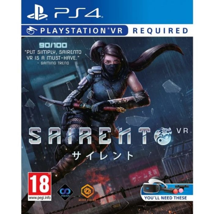 PSVR Sairento VR £14.95 at the Game Collection