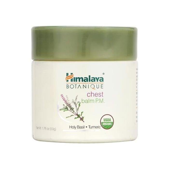 Himalaya Herbals Holy Basil & Turmeric Chest Balm 50g - Save £2