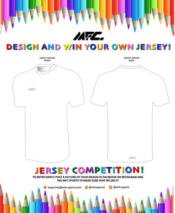 Win Your Own Personalised Jersey!