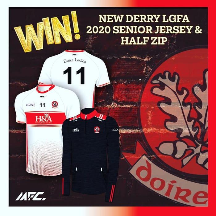 Win a Derry Ladies Jersey & Half Zip Range!