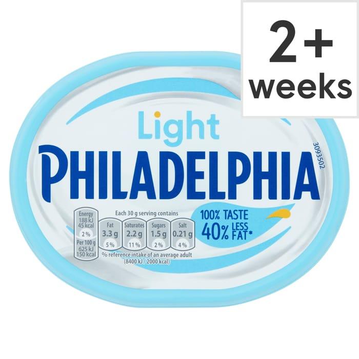 Philadelphia Light 180G for £1 at Tesco