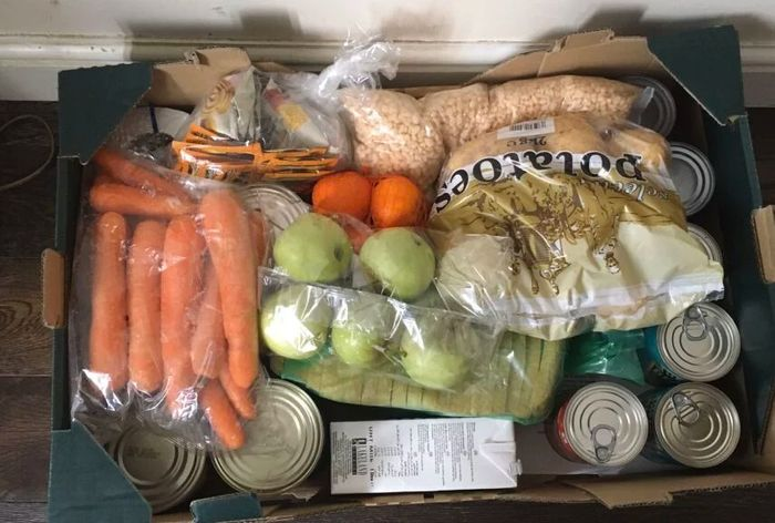 CHEAP! Food Package for the Most Vulnerable if You Sign Up England only