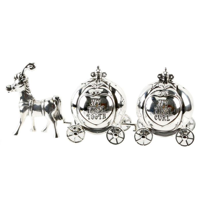 Best Price! Little Princess Cinderella Carriage Tooth & Curl Box