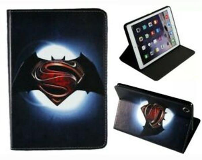 Cheap iPad 9.7 Batman, Superman, Avengers, Iron Man, DC Case Cover - Only £10!