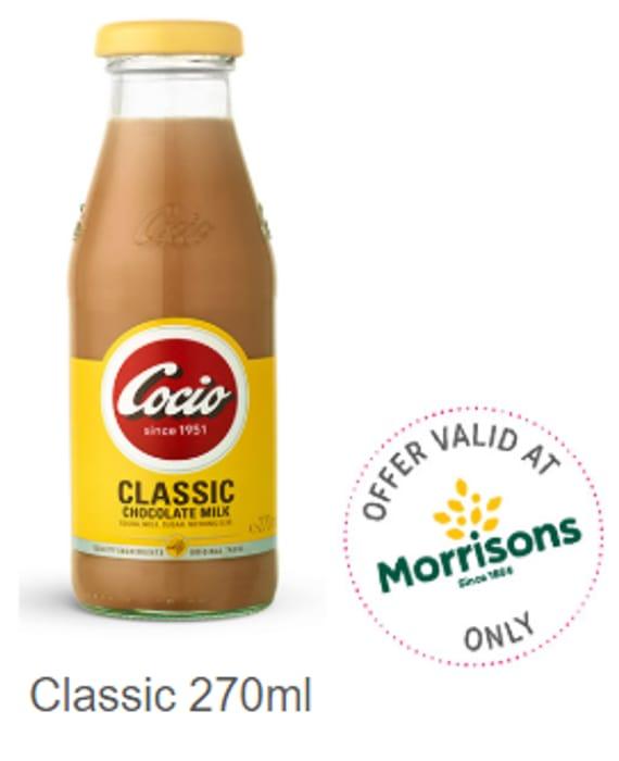 Cocio Classic and Dark Chocolate Milk