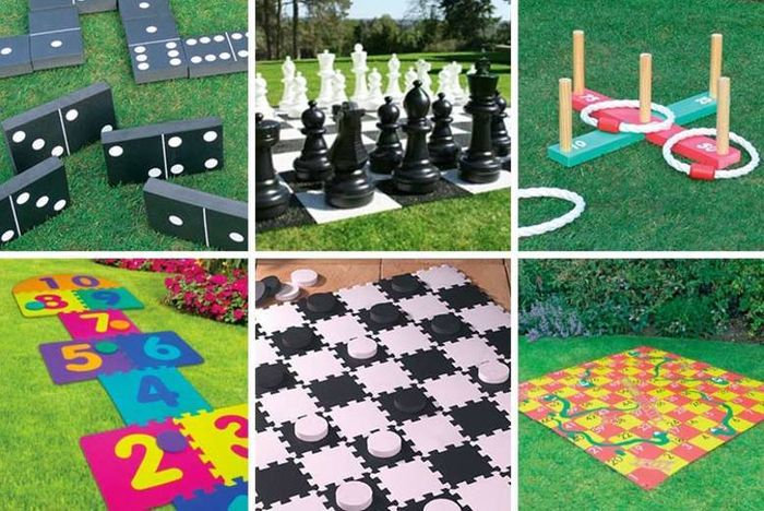Get a Giant Garden Game for Your Backyard!