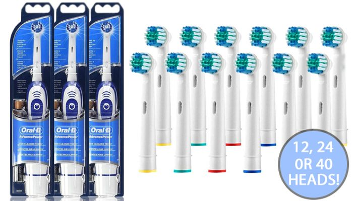 Braun Oral-B Electric Toothbrushes on Sale From £39.99 to £9.99