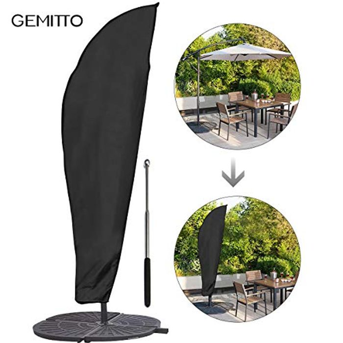 Protective Parasol Cover with Rod