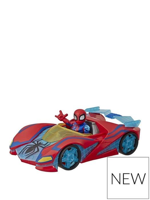 Super Hero Adventures Spider-Man Web Racer