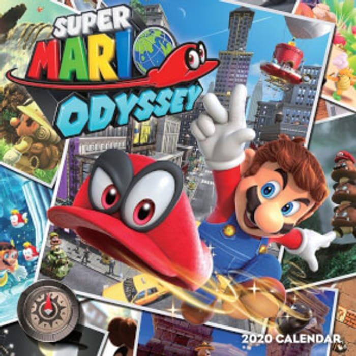 Super Mario Odyssey Calendar 2020 - Save £11