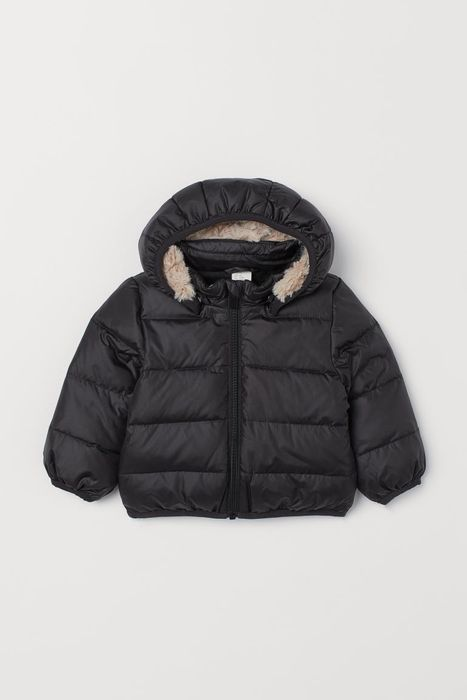 Baby and Toddler Hooded down Jacket at H & M