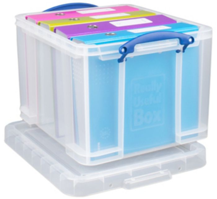 Really Useful Clear Storage Box - 35L