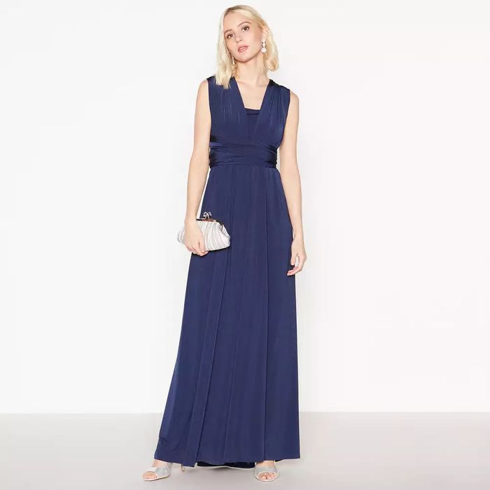 Debut Navy Multiway Maxi Dress (Small Only)